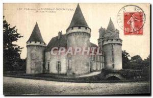 Old Postcard Chateau Coussac Bonneval