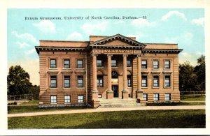North Carolina Durham Bynum Gymnasium University Of North Carolina