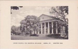 Kentucky Berea Union Church Fee Memorial Building Albertype