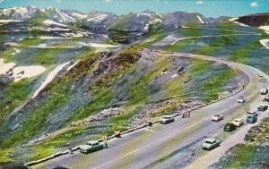 Colorado Tundra Curves & Trail Ridge Road Rocky Mountain National Park 1960