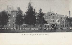 ROCHESTER, Minnesota, PU-1909 ; St. Mary's Hospital
