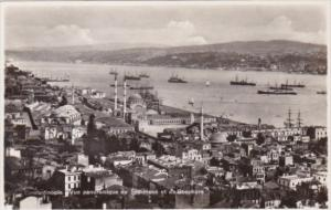 Turkey Constantinople Vue panoramique de Top-Hane et du Bosphore Photo