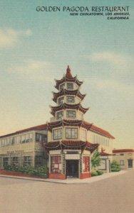LOS ANGELES , California , 1930-40s ; Golden Pagoda Restaurant, Chinatown