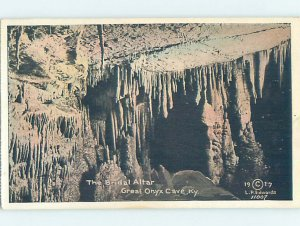 Linen GREAT ONYX CAVE Mammoth Cave National Park - Cave City Kentucky KY AD4055