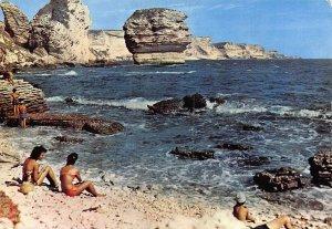 France Corse Bonifacio The Steep Shores and the Grain of Sand Postcard