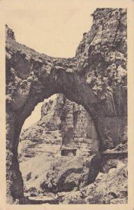 CONSTANTINE, Dans les Gorges du Rhummel, La grande Arche naturelle, Algeria, ...