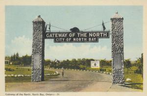 NORTH BAY , Ontario, 1930-40s ; Gateway