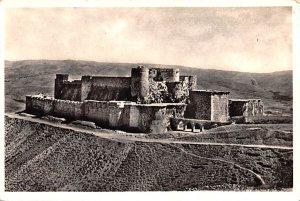Krak of the Knights, Syria , Syrie Turquie, Postale, Universelle, Carte Unused