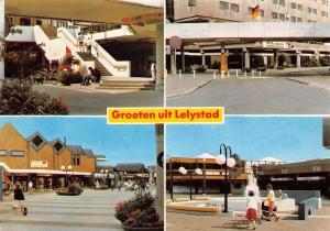 Netherlands Groeten uit Lelystad, Winkelcentrum De Gordiaan 1991