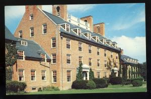 Kingston, Rhode Island/RI Postcard, URI Woman's Dormitory