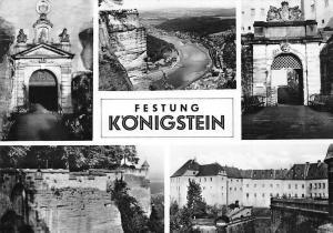 Festung Koenigstein Schloss, Castle Gate River General view Chateau