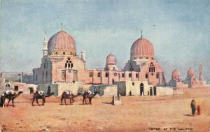 EGYPT~TOMBS OF THE CALIPHS~TUCK PICTURESQUE EGYPT POSTCARD