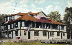 Tuberculosis Hospital, Elmira, New York, Early Postcard, Unused