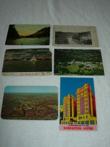 Rochester NY - Lot Of 6 Great Vintage Postcards - x0393