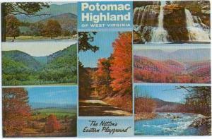 Scenes Potomac Highland of West Virginia WV, Chrome