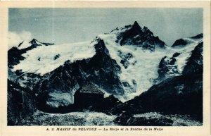 CPA Massif du PELVOUX - La MEIJE et la Breche de la MEIJE (583838)