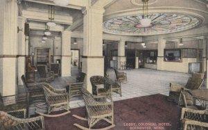 ROCHESTER, Minnesota, 1919; Lobby, Colonial Hotel