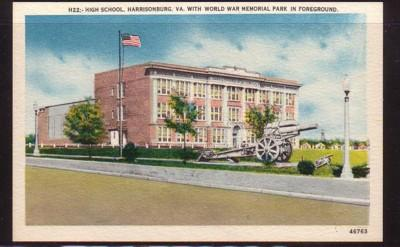 Virginia PC US High School Harrisonburg & World War Park unused