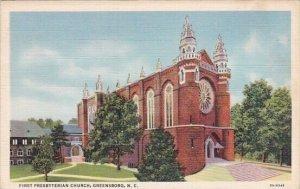 First Presbyterian Church Greensboro North Carolina