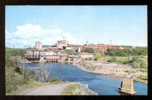 4829 - ESPANOLA Ontario Postcard 1960s KVP Company Paper Mill