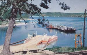 Lake Norfolk Ferry, Operated By The State Of Arkansas, Northern Arkansas, 194...