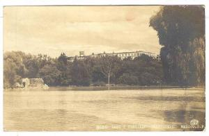 RP, Lago Y Castillo, Chapultepec, Mexico, D.F., PU-1954