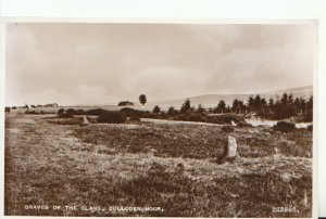 Scotland Postcard - Graves of The Clans - Culloden Moor - RP - Ref 18301A