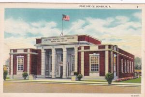New Jersey Dover Post Office 1939 Curteich