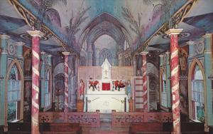 Interior, St. Benedict's Catholic Church, Honaunau, Kona, Hawaii, 1940-1960s