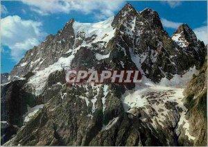 Postcard Modern Massif of Oisans Htes Alps Summit Petit Pelvoux