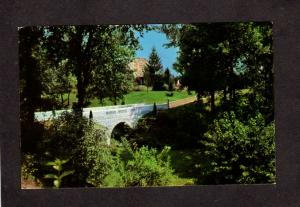 IN Seven Dolors Shrine Franciscan Fathers Valparaiso Indiana Postcard nr Gary