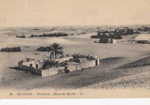 EL-Oued , Algeria , 1927 ; Route de Djerid