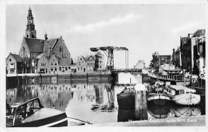 Netherlands Maassluis, Gezicht op de N.H. Kerk 1955