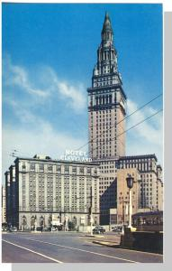 Cleveland, Ohio/OH Postcard, Hotel Cleveland/Terminal Tower