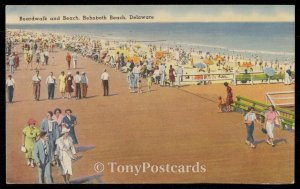 Boardwalk and Beach, Rehoboth Beach