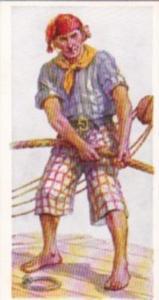 Carreras Vintage Cigarette Card Naval Uniforms No 10 Seaman Of 1690