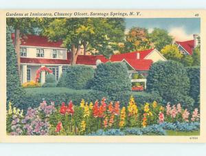 Linen LODGE SCENE Saratoga Springs New York NY J7856