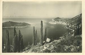 Croatia, Dubrovnik, unused real photo Postcard