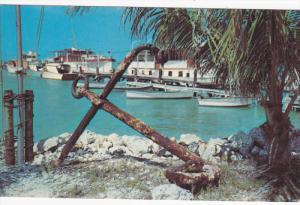 Scene at Thompson's Dock, MARATHON, Florida Keys, 40-60s