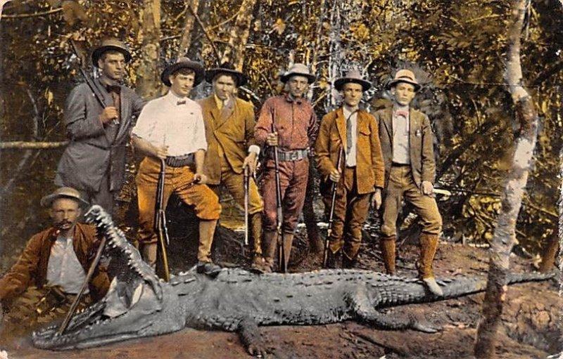 Return from Alligator Hunt Panama Unused