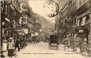 CPA PARIS 9e - Rue du Faubourg Montmartre (78122)