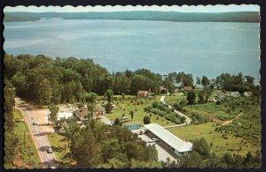 Ontario MINDEN The Clansman Motel & Cottages Hwy 35 on Boshkung Lake 1950s-1970s