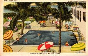 Florida Miami Beach Coral Reef Hotel