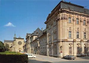 Kloster mit Basilika zu Ebrach im Steigerwald Auto Cars Street Monastery
