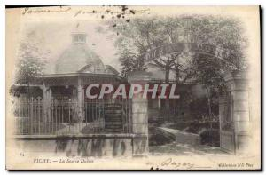 Old Postcard Vichy The Source Dubois