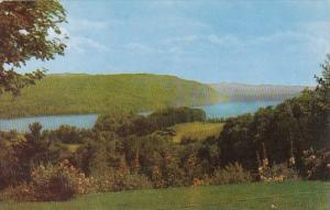 Looking South Over Lake Morey Central Vermont
