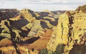 Arizona Grand Canyon Looking East From Yaki Point Fred Harvey