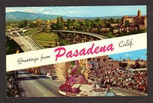 CALIFORNIA PASADENA CA Greetings from Postcard Parade