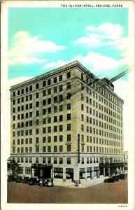 Abilene TX The Hilton Hotel Postcard unused 1915-30s