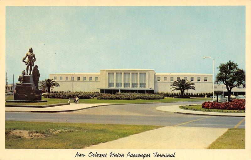 New Orleans Louisiana~New Orleans Union Passenger Terminal~1920